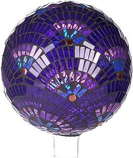 Goose Creek Colorful Mosaic Glass Gazing Ball 10
