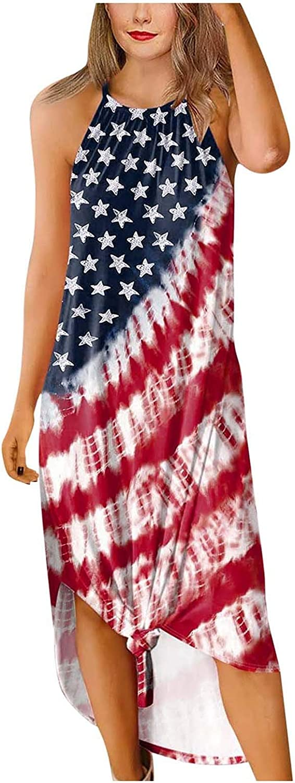 Jinjin2 Women's Long Dresses Strap Party Dress Comfort Maxi Dress Summer Dress Print Sleeveless Casual
