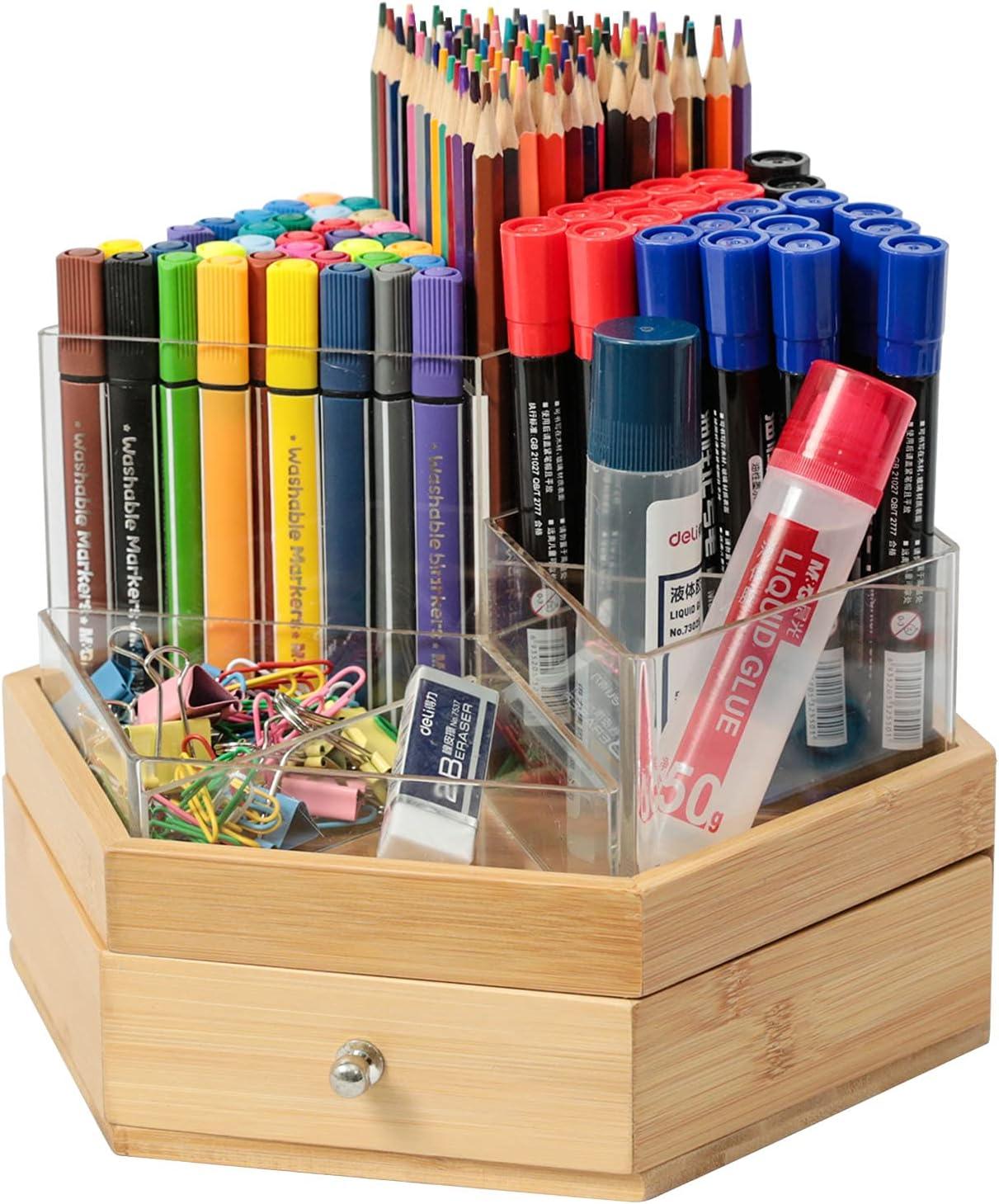 X-cosrack Acrylic Kansas City Mall Pen Holder Pencil Organi Detachable Clear New Shipping Free
