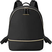 mommore Diaper Backpack Fashion Diaper Bag with Changing Pad for Baby Care, Large