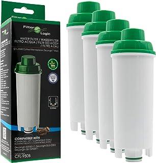 Filterlogic 4 x CFL-950B - Cartouche cafetière Compatible DeLonghi DLS C002 / DLSC002 / SER 3017 / SER3017 / 551329811 - p...