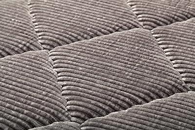 イケヒコ・コーポレーション イケヒコ ラグ カーペット グランド 約185×300cm グレー 大判 長方形 防音 ボリューム 厚い コーデュロイ 無地 #4982809 4畳
