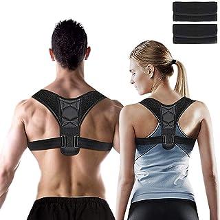 Posture Corrector for Men and Women, Adjustable Shoulder Support Brace, Back Straightener, Providing Pain Relief for Neck,...