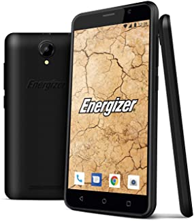 Energizer Energy E500S 4G Smartphone, 1 GB RAM, Dual SIM - Black