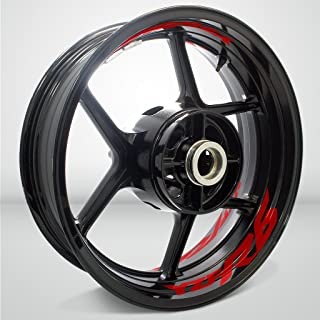Gloss Red Motorcycle Inner Rim Tape Sticker Decal for Yamaha YZF R6