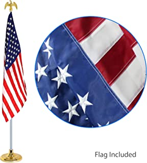 EasyGoProducts EGP-POLE-007 3' X 5 w/Telescoping Indoor Pole Kit-Embroidered Flag