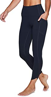 RBX Active Women's Squat Proof High Waist Full Length Workout Running Yoga Leggings with Pockets