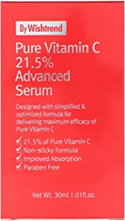 Sponsored Ad - [By Wishtrend] Pure Vitamin C21.5% Advanced Serum 30ml, Clear and Healthier Skin