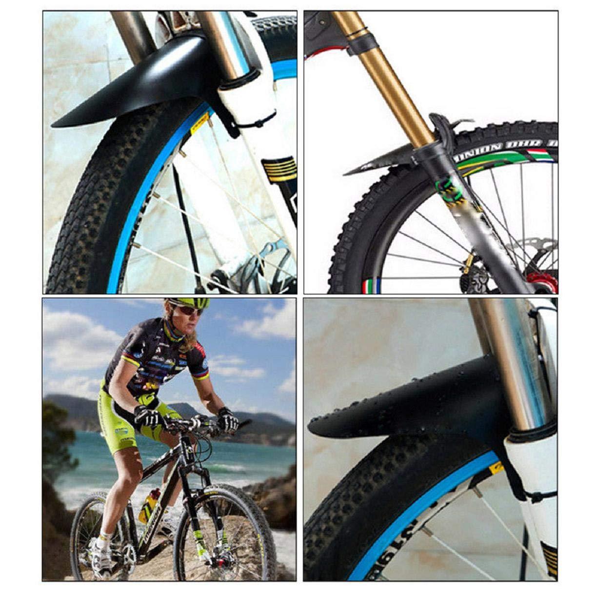 GreatFun Accesorios para Bicicletas Guardabarros Delanteros y ...