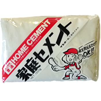 サンホーム工業 家庭セメント 普通 白色 1.3kg