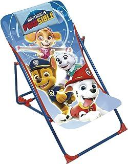 ARDITEX PW13028 Tumbona Plegable de 43x66x61cm de Nickelodeon-Patrulla Canina