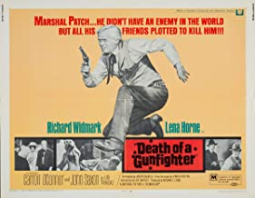 Movie Poster Giclee Print On Canvas-Film Poster Reproduction Wall Decor(Death of a Gunfighter 3) #XFB