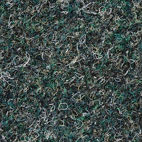 BODENMEISTER BM73501 Teppichboden Nadelfilz Nadelvlies Meterware Objekt grün 200 cm und 400 cm breit, verschiedene Längen, Variante: 13 x 4 m