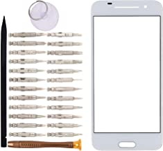Front Screen Glass Lens Fixes Screen Glass Cracked for HTC One A9(White)