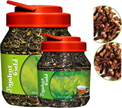 Byahut Gold Cloves with Green Tea Leaves & Cloves with Darjeeling Tea Leaves, 400g