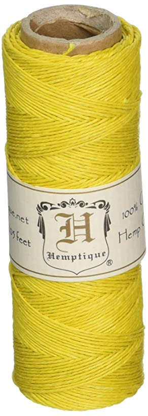 Hemptique 5070813 Hemp Cord Spool, 10 lb, Yellow