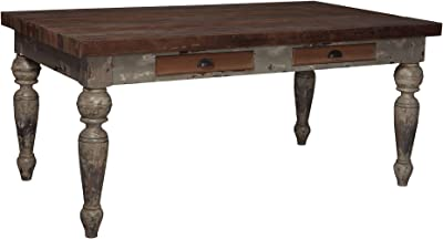 Sterling Home Farmhouse 72-inch dining table, Multicolor