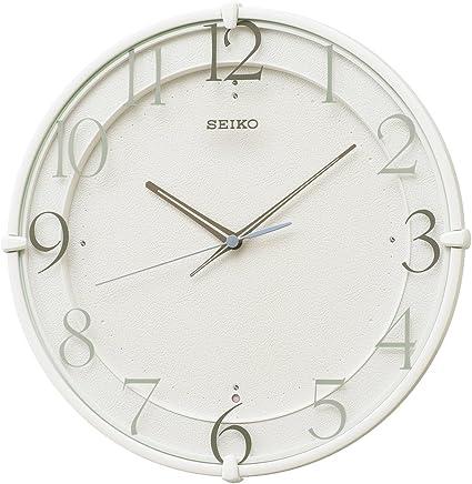 セイコー クロック 掛け時計 電波 アナログ 白 KX215W SEIKO