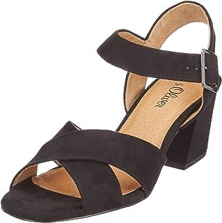 04465db8a2c68 Suchergebnis auf Amazon.de für: schwarze sandalen mit absatz: Schuhe ...