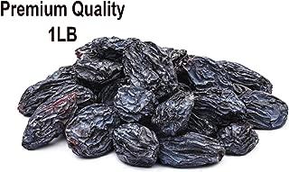 Black Dried Fresh Raisins Seedless, ready to eat resealable bag(1LB)