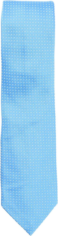 Altea Milano Men's Handstitched Dotted Silk Cotton Tie Necktie