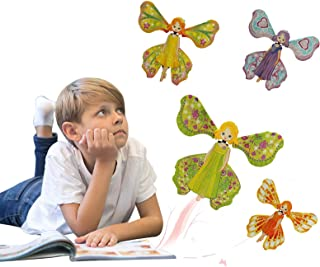 PLENTOP Magic Flying Butterfly Gift Cards - Wind Up Butterfly in The Book Fairy Toy Great Surprise Wedding Flying Butterfl...