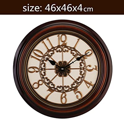 TOYM US-16 inches European wall clock living room Large pocket watch Creative mute clock