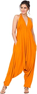 likemary Harem Jumpsuit Halter Hareem Summer Romper for Women