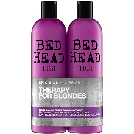 TIGI Bed Head, Set Regalo da Donna Tween Duo, Shampoo 750 ml e Conditioner 750 ml, Dumb Blonde