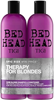 comprar comparacion Bed Head by Tigi Dumb Blonde Hair Shampoo and Conditioner, 750 ml, Pack of 2