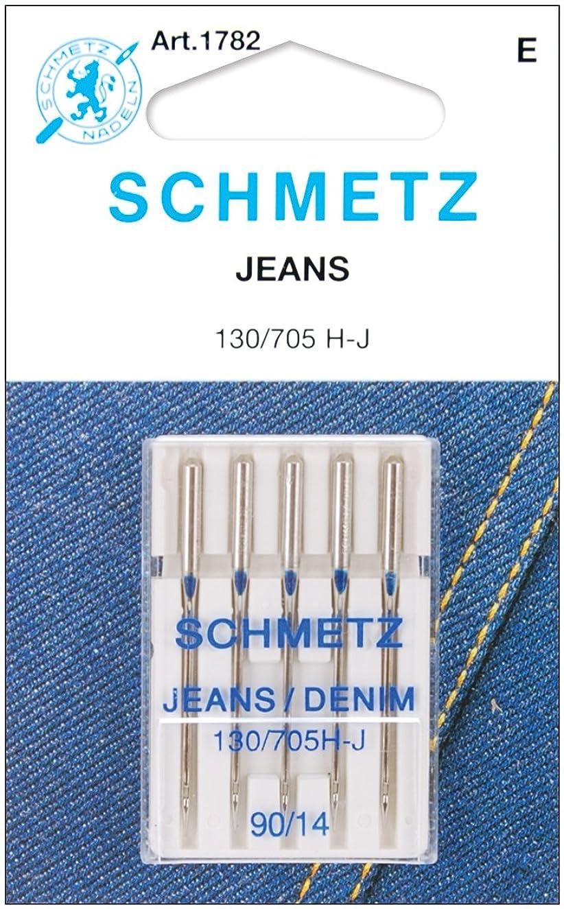 Euro-Notions Jean & Denim Machine Needles-Size 14/90 5/Pkg