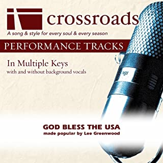 God Bless The USA (Made Popular By Lee Greenwood) [Performance Track]
