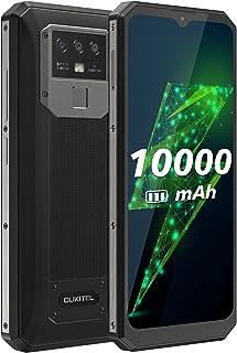 OUKITEL K15 Plus SIM フリー スマホ 本体 10000mAh バッテリー 6.52 インチデュアル SIM 4G シムフリー スマホ本体 Android 10.0 16MP+2MP+ 2MPカメラフェースと8MP AI前側カ...