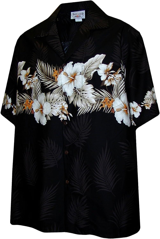 Pacific Legend Boys Tropical Super Virginia Beach Mall sale period limited XL Shirt Black Garden