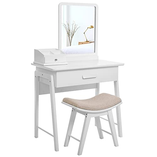 . Modern Dressing Tables with Mirror and Stool  Amazon co uk