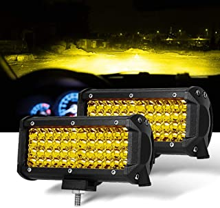 off road yellow fog lights