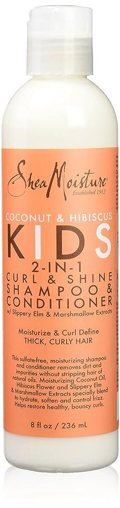 Shea Moisture Kids Curl & Shine 2-in-1 Shampoo & Conditioner  8oz