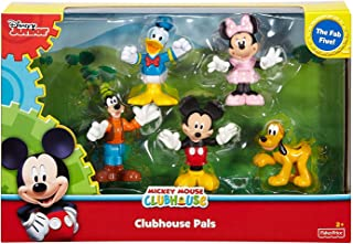 Disney Mickey Clubhouse Set of 5 Pals Collectible figures 200 Bonus Stickers