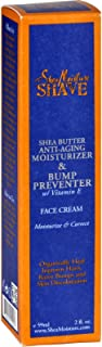 Shea Moisture For Men Three Butter Moisturizing Face Cream and Spot Corrector 2 oz