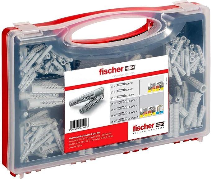 1888 opinioni per Fischer Redbox SX UX Valigetta 180 Tasselli SX e UX Assortiti per Fissaggio su