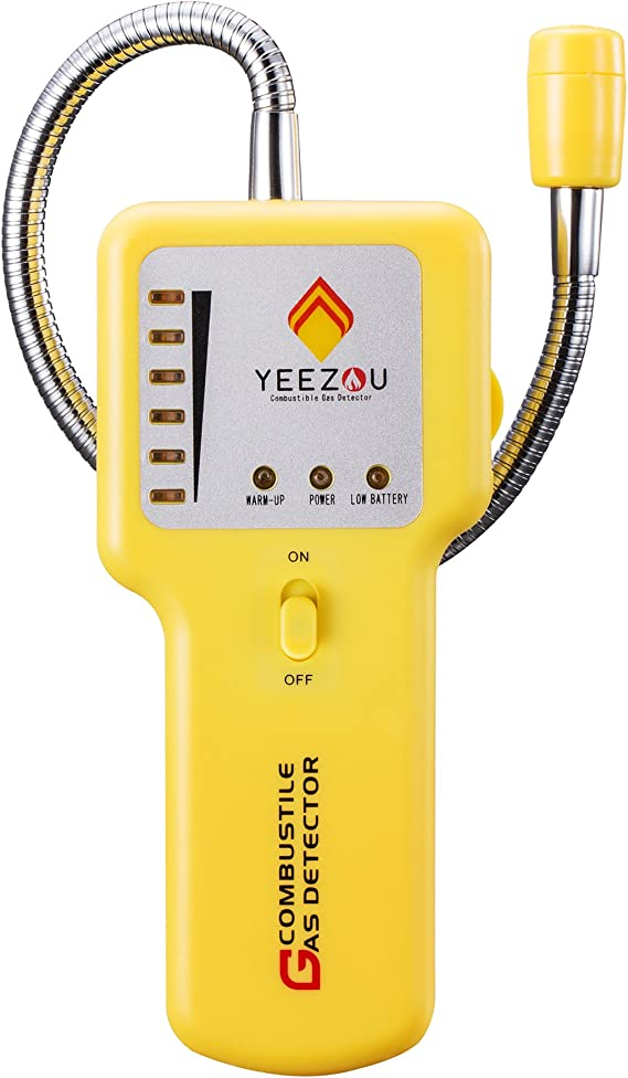 Techamor Y201 Portable Methane Propane Combustible Natural Gas Leak Sniffer Detector