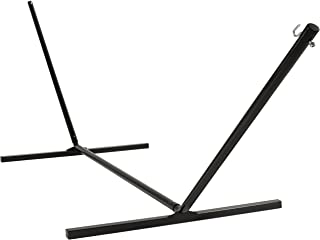 Best Choice Products 15ft Steel Beam Hammock Stand, Weather-Resistant w/ Adjustable Hanging Hooks, Powder-Coated Finish