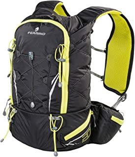 BACKPACK FERRINO 20 TRAIL RUNNING 75219BLACK YELLOW