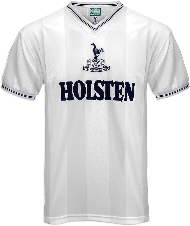 Wei/ß Herren Shirt Tottenham Hotspur 1983 Hemd Gr/ö/ße L Tottenham Hotspur F.C