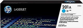 HP 201A Laserjet Toner Cartridge, Cyan - CF401A
