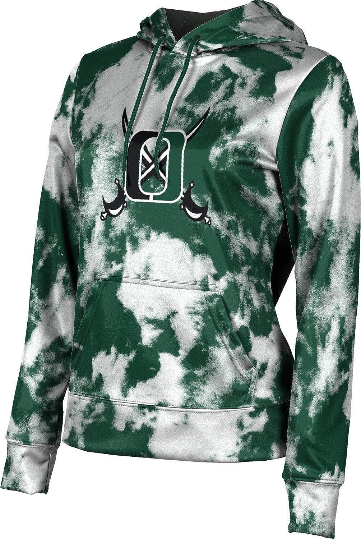 ProSphere Oceanside High School Girls' Pullover Hoodie, School Spirit Sweatshirt (Grunge)