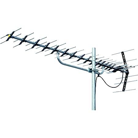 マスプロ電工 4段導波器UHFアンテナ 20素子 受信チャンネルch.13~52 LS206