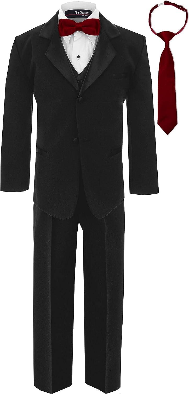 Gino Giovanni Boy's Formal Tuxedo Suit Dresswear Set