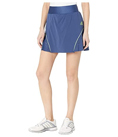 adidas Golf Perforated Color Pop Skort (Tech Indigo) Women