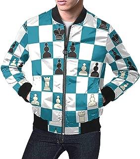 Men's Casual Slim Fit Printed Outerwear Coat